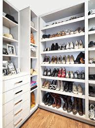 Closet Shoe Organizer Closetmaid Shelftrack 36 In W 5 Pair Ventilated Wire Shoe Shelf