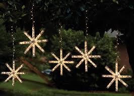 craft ideas lighted snowflake