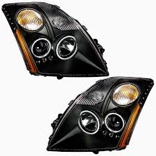 nissan juke led headlights cg black headlights for 2012 nissan sentra