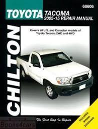 1997 toyota tacoma owners manual toyota tacoma service manual ebay