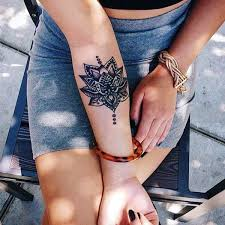 best 25 forearm mandala tattoo ideas on pinterest henna tattoo