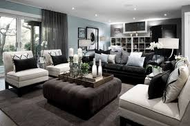 Black Leather Sofa Interior Design How To Decorate Around The Black Leather For The Home