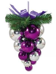 Purple Butterfly Christmas Decorations by Tree Ornament All Things Purple Pinterest Purple Christmas