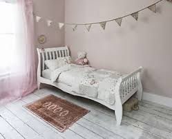 single bed in white with sleigh design astrid bed frame ebay