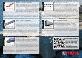 F115 Wall Mount Outboard Brochure Yamaha Motor Uk