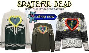 dead head ugly christmas sweaters at rustyzipper com