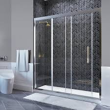 Shower Door Shop Shop Ove Decors Granada 58 25 In To 59 In W Frameless Polished