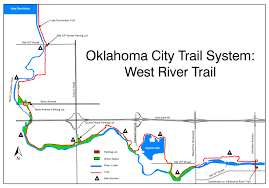 Maps Okc Maps 3 Interstate 44 West Trail Route Set News City Of Okc