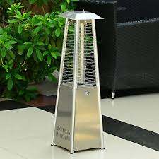 Table Top Gas Patio Heater by Outsunny 3kw Deluxe Patio Pyramid Heater Table Top Gas Heating