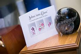 ashes into glass ashes into glass eric f box funeral directors eric f box