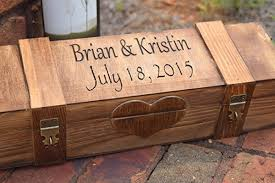 box personalized personalized ceremony wine box with 2 lockable hinges