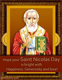 St Nicholas Meme - hope your saint nicolas day is bright with happiness generosity