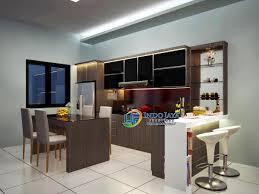 Kitchen Set Minimalis Untuk Dapur Kecil 2016 Kitchen Dapur Minimalis Modern Terbaru Lemari Dapur Mewah