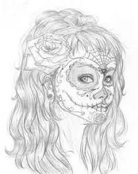 sugar skulls mandalas printables viewing gallery female