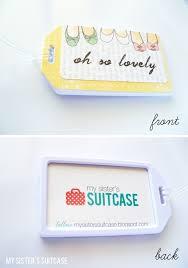 Business Card Luggage Tags Laminated Best 25 Custom Luggage Tags Ideas On Pinterest Monogrammed