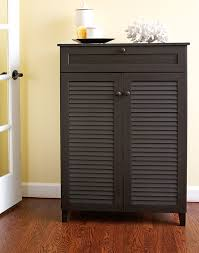 Tall Storage Cabinet Amazon Com Baxton Studio Harding Shoe Storage Cabinet Espresso