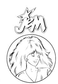 33 Best Crafty 80 S Jem Coloring Images On Pinterest Coloring 80s Coloring Pages