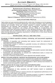 Federal Resume Templates Federal Resume Free Resume Example And Writing Download