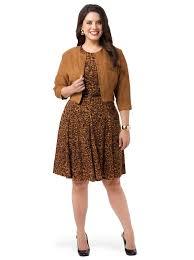 jessica howard empire waist dress with crop jacket gwynnie bee