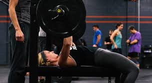 145 Bench Press Union Crossfit Friday 123016 Bench Press Power Clean Push