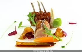 recette de cuisine de chef étoilé agneau des pyrénées légumes épicés recette du chef triplement