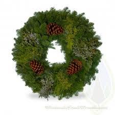wholesale fresh evergreen wreaths wreath