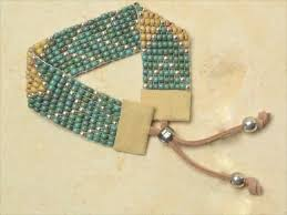 thread bead bracelet images How to weave a bracelet without a loom jpg