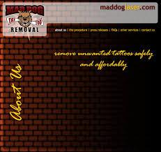 tattoo removal mad dog tattoo removal austin texas