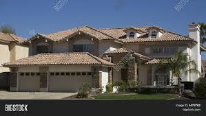 modern adobe home in arizona stock photo u0026 stock images bigstock
