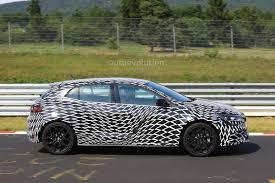 2018 renault megane rs shows off wheel designs in new nurburgring