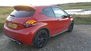peugeot sports car 2017 peugeot 208 gti by peugeot sport handsome devil motormartin