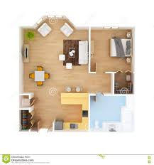 cad floor plan top view stock illustration image 70499382