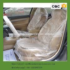 housse plastique siege auto jetables en plastique de voiture housse de siège paquet rouleau pe