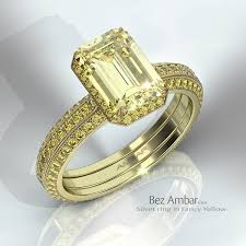 fancy yellow diamond engagement rings yellow diamond rings by bez ambar originator of the princess cut