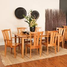 amish table and chairs buy goshen amish 5 piece dining table set from fusion designs
