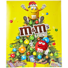 m m s friends chocolate advent calendar m m s coop home
