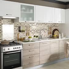 cooke lewis bursa mutfak dolabı rustik meşe beyaz 270 cm koçtaş