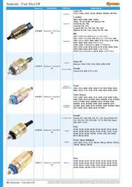 fuel injection cables page 58 sparex parts lists u0026 diagrams