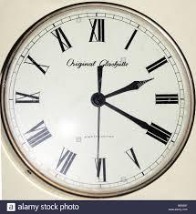 clocks electric wall clock glashütte elektrochron made by veb
