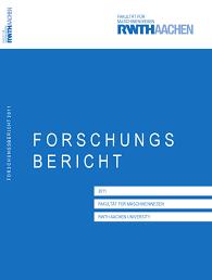 forschungsbericht 2011 by fakultät für maschinenwesen issuu
