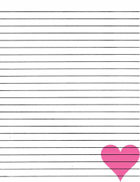 free printable writing fax templates free ruled paper template