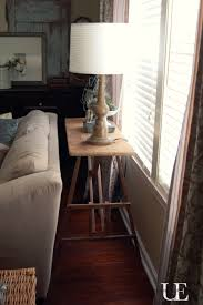 Table Behind Sofa by Diy Sofa Table Made From An Old Ironing Board At