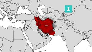 Middle East Map Test by Iran Conducts First Missile Test Since Trump U0027s Inauguration Cnn