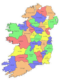 Map Ireland Counties Of Ireland Map Ireland Map