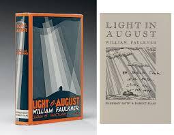 faulkner light in august faulkner william light in august new york harrison smith and