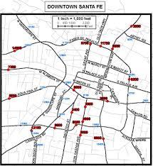 Maps Traffic Map Traffic Count Downtown Santa Fe Webster Enterprises