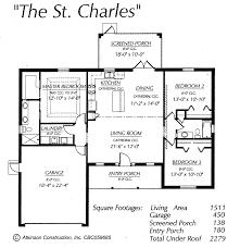 st charles floor plan atkinson construction inc citrus