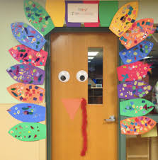 preschool wonders turkey time each student decorates a feather
