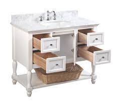 beverly 42 inch vanity carrara white u2013 kitchenbathcollection