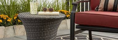 Wicker Patio Coffee Table Outdoor Coffee Side Tables For Less Overstock
